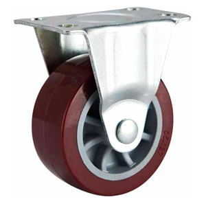 Light Duty Polyurethane Caster Rigid